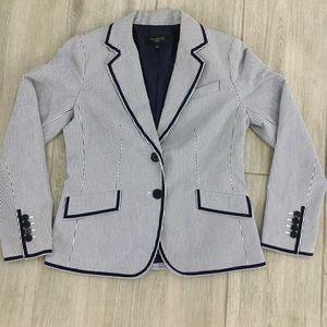 Talbots striped blazer